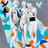 Zuzanna Jankowska (b. 1991), Friday's Three Graces,