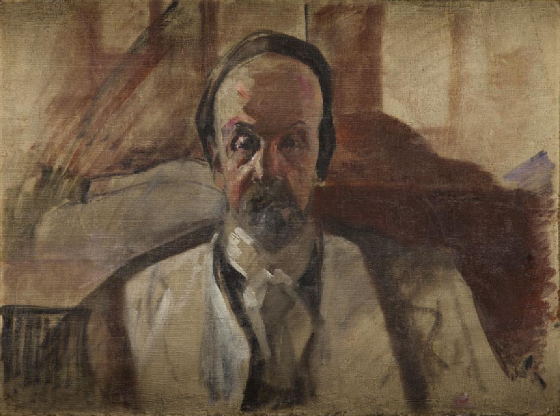 Jacek Malczewski (1854 - 1929) Self-portrait, circa