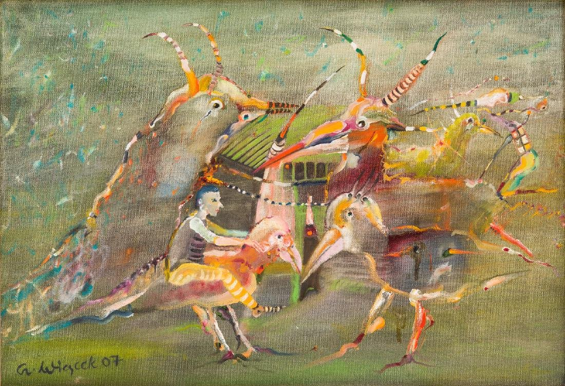 Czeslaw Wiacek (b. 1939) Untitled, 2007
