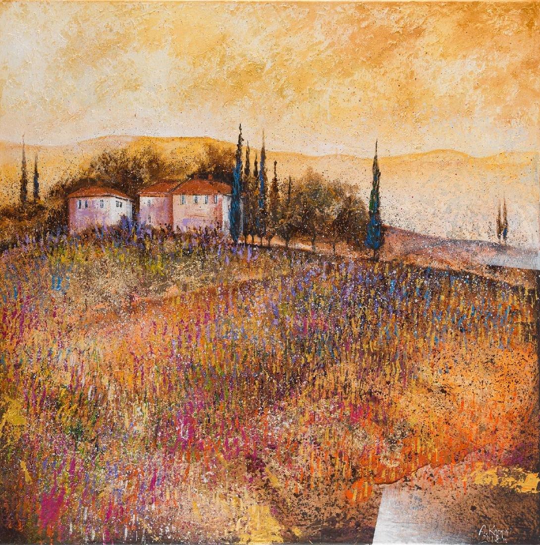 Alicja Kappa (b. 1973), Lavender dawn, 2018