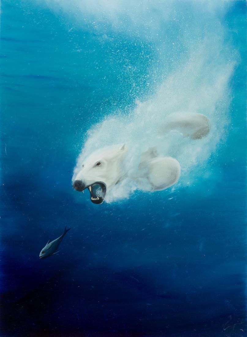 Campio (b. 1988), Polar hunting, 2017