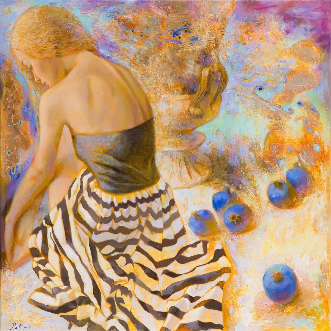 Olga Pelipas (b. 1988), The Blue Mood, 2017