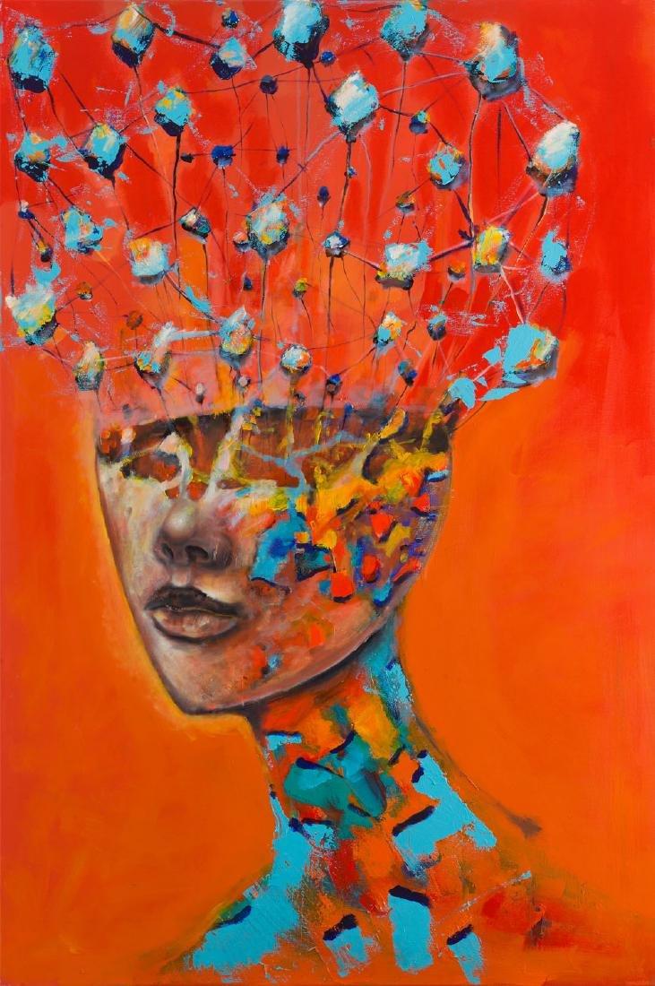 Lukasz Jankiewicz (b. 1975), Emotional portrait - fire