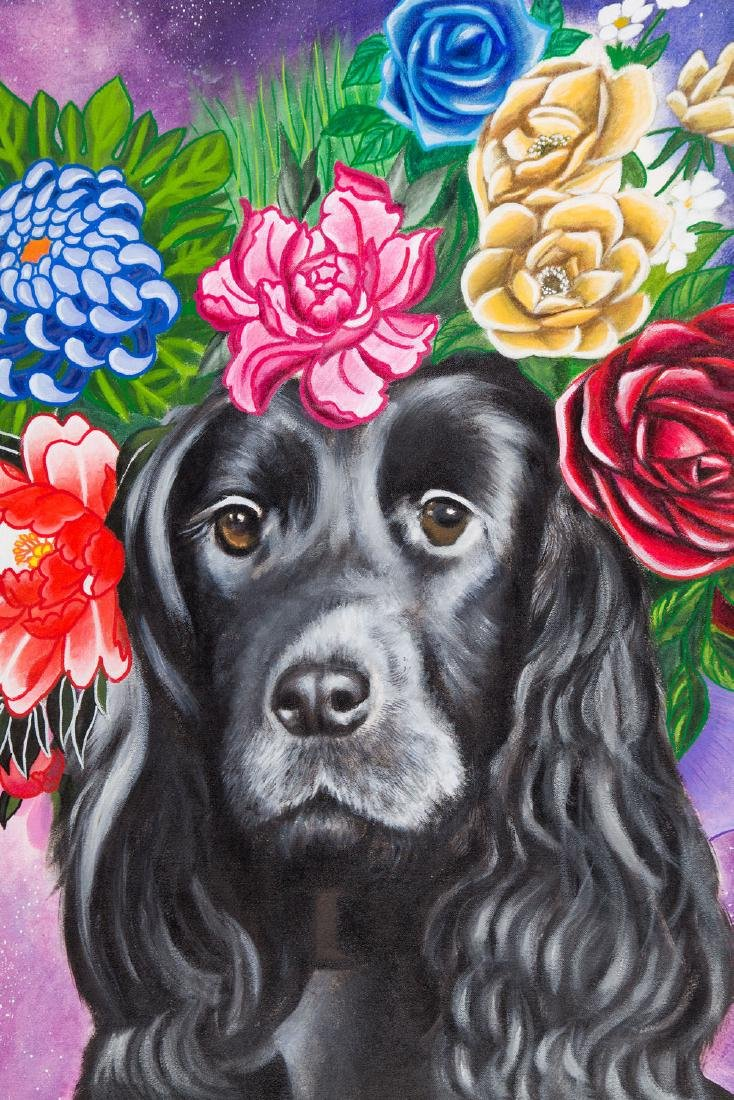 Karolina Fox (b. 1988), Celebrity dog, 2017 - 3