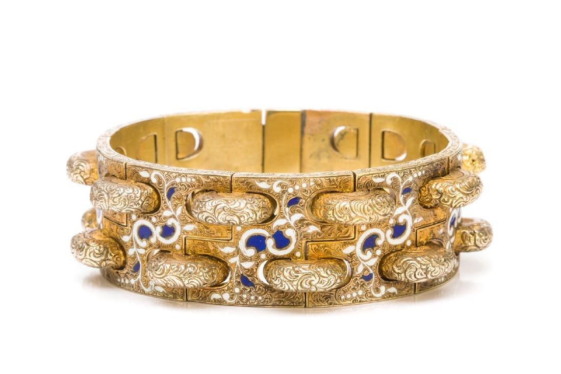 Bracelet in Biedermeier style, Mid-19th Century