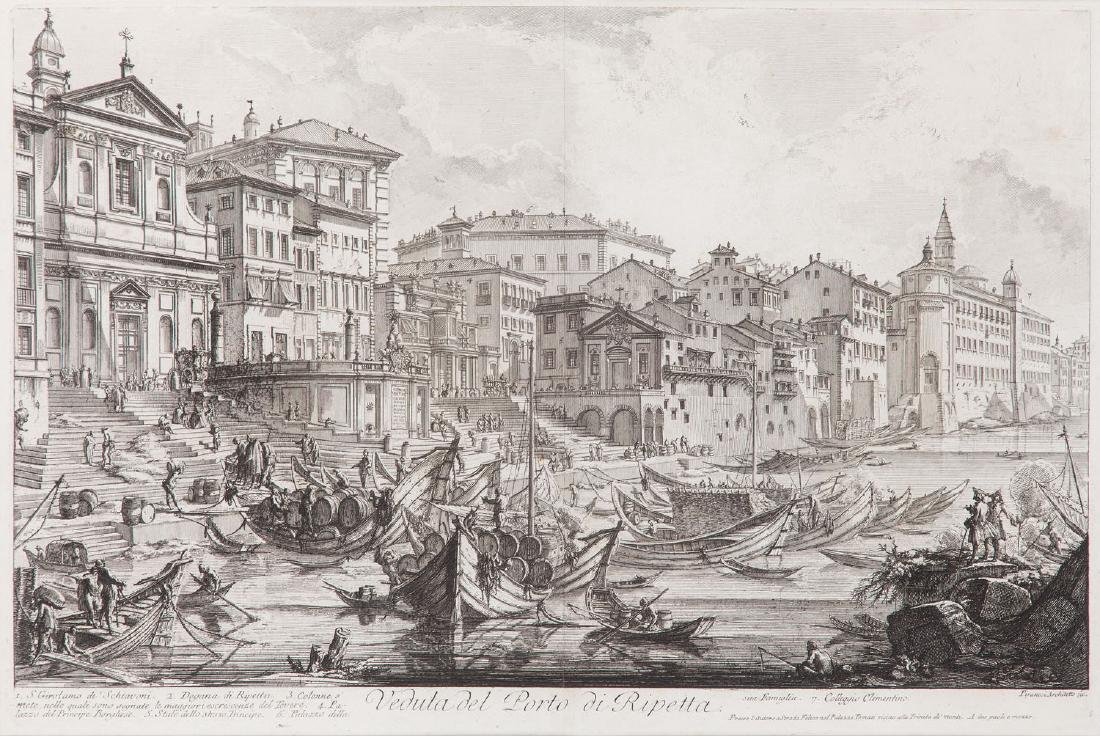 Giovanni Battista Piranesi (1720 - 1778) Veduta del