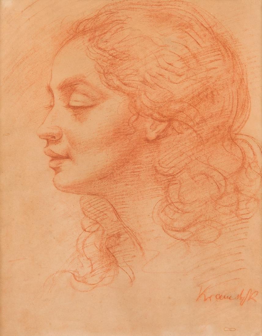 Roman Kramsztyk (1885 - 1942) Female portrait (Carlotta