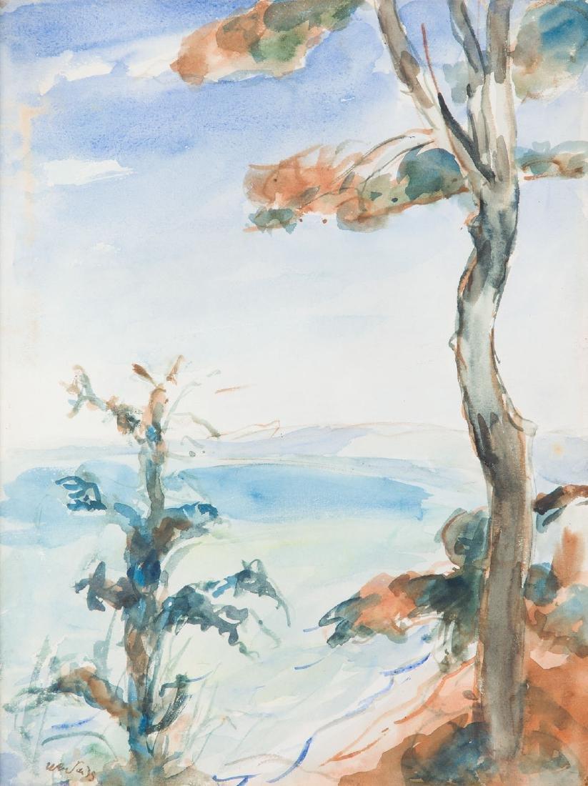 Wojciech Weiss (1875 - 1950) Landscape from Southern