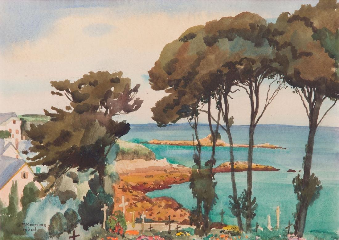 Wladyslaw Skoczylas (1883 - 1934) Landscape from