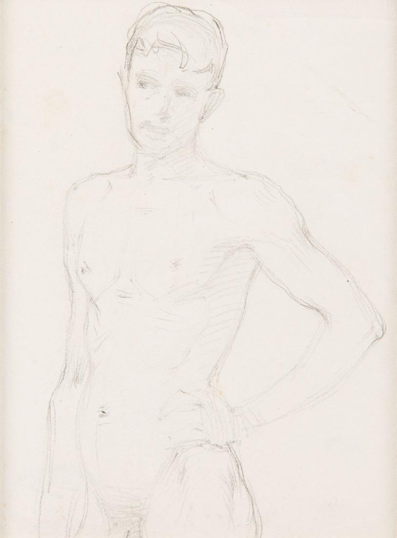 Stanislaw Sawiczewski (1866 - 1943) Male nude