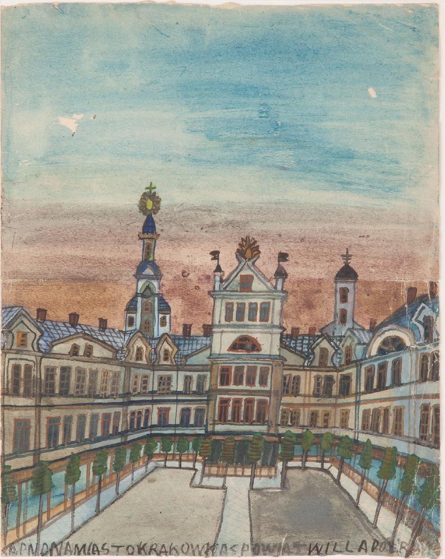 Nikifor Krynicki (1895 - 1968) Miasto Krakow (City
