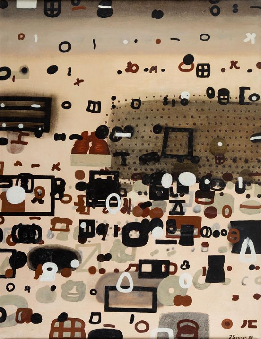 "Jan Tarasin (1926 - 2009) ""Situation II"", 1980"