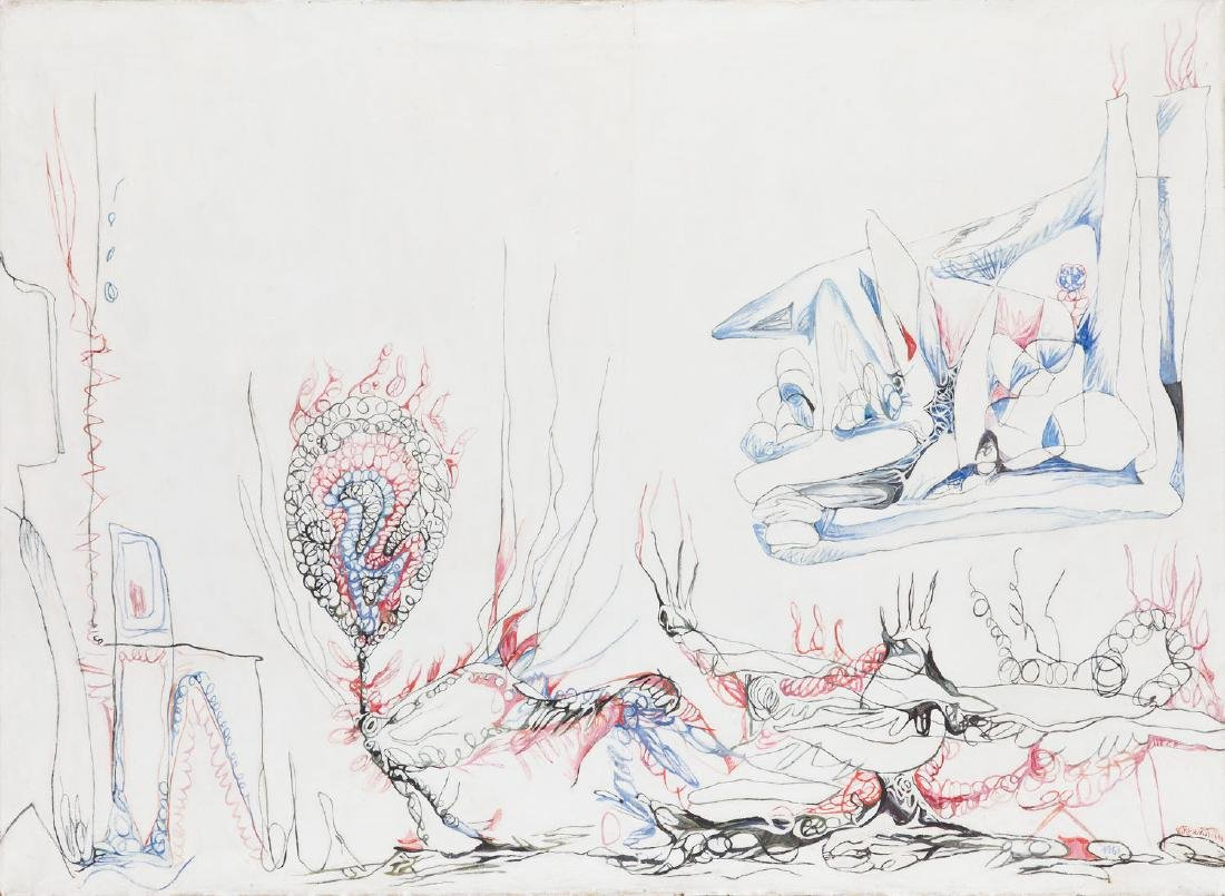 "Erna Rosenstein (1913 - 2004) ""Peacock's Adventures"","
