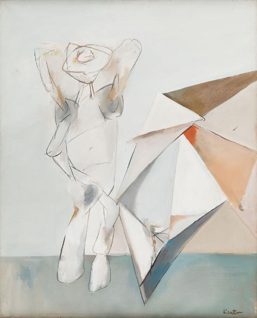 "Tadeusz Kantor (1915 - 1990) ""Figure and Umbrella"","