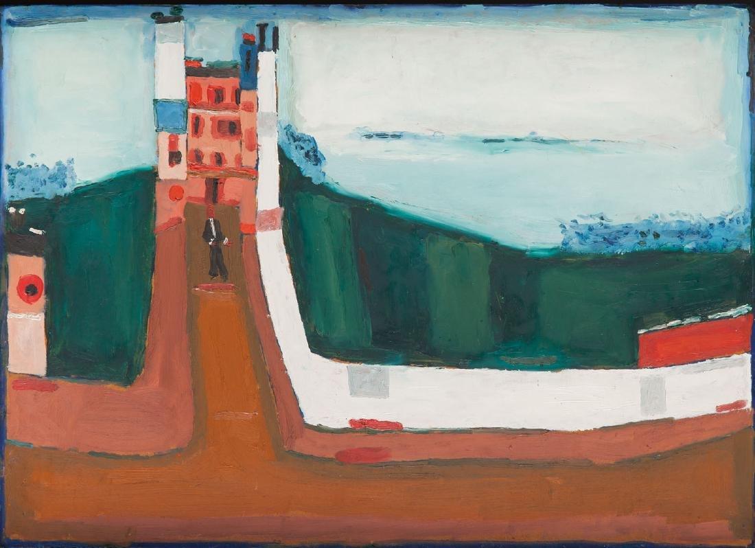 Jerzy Nowosielski (1923 - 2011) Landscape, 1963