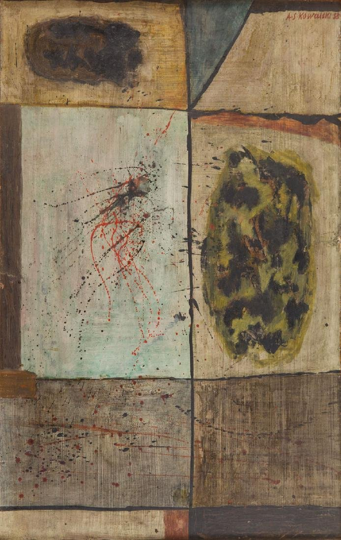 Andrzej S. Kowalski (1930 - 2004) Composition No. 4,