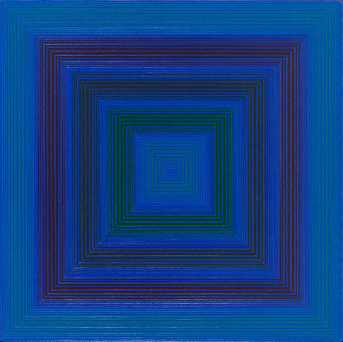 """Richard Anuszkiewicz (b. 1930) """"Indigo"""", 1972"""
