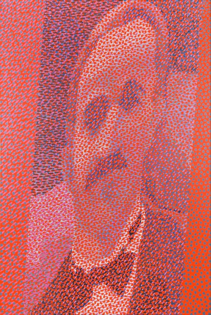 """Wojciech Fangor (1922 - 2015) """"Panocek 3"""", 1977"""