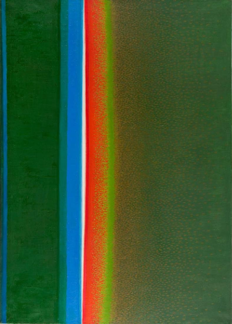 "Stefan Gierowski (b. 1925) ""Painting CCLXVII"", 1970"