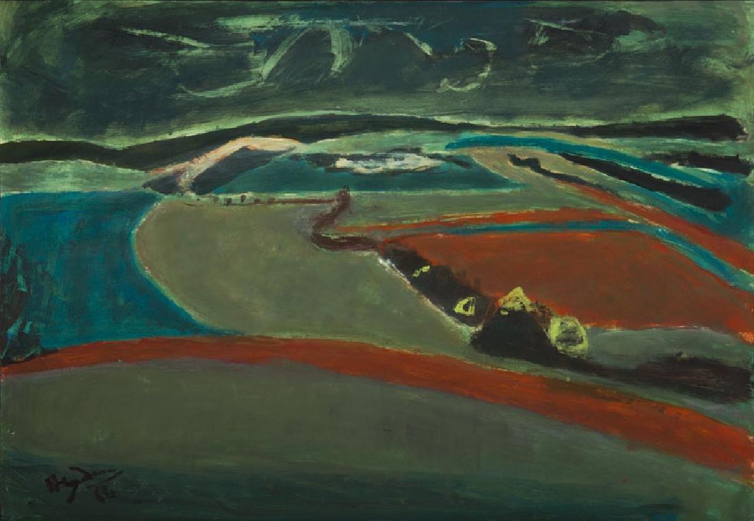 Henryk Hayden (1883 - 1970) Val-de-Marne in