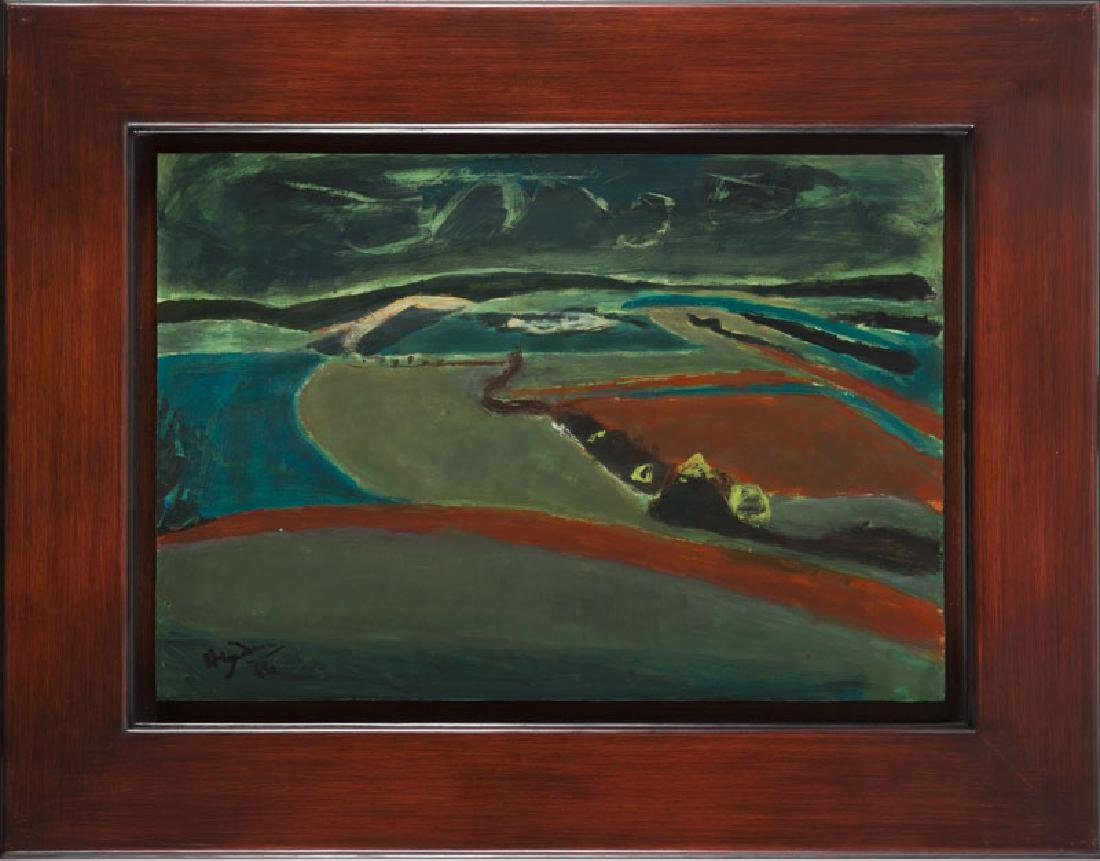 Henryk Hayden (1883 - 1970) Val-de-Marne in - 6