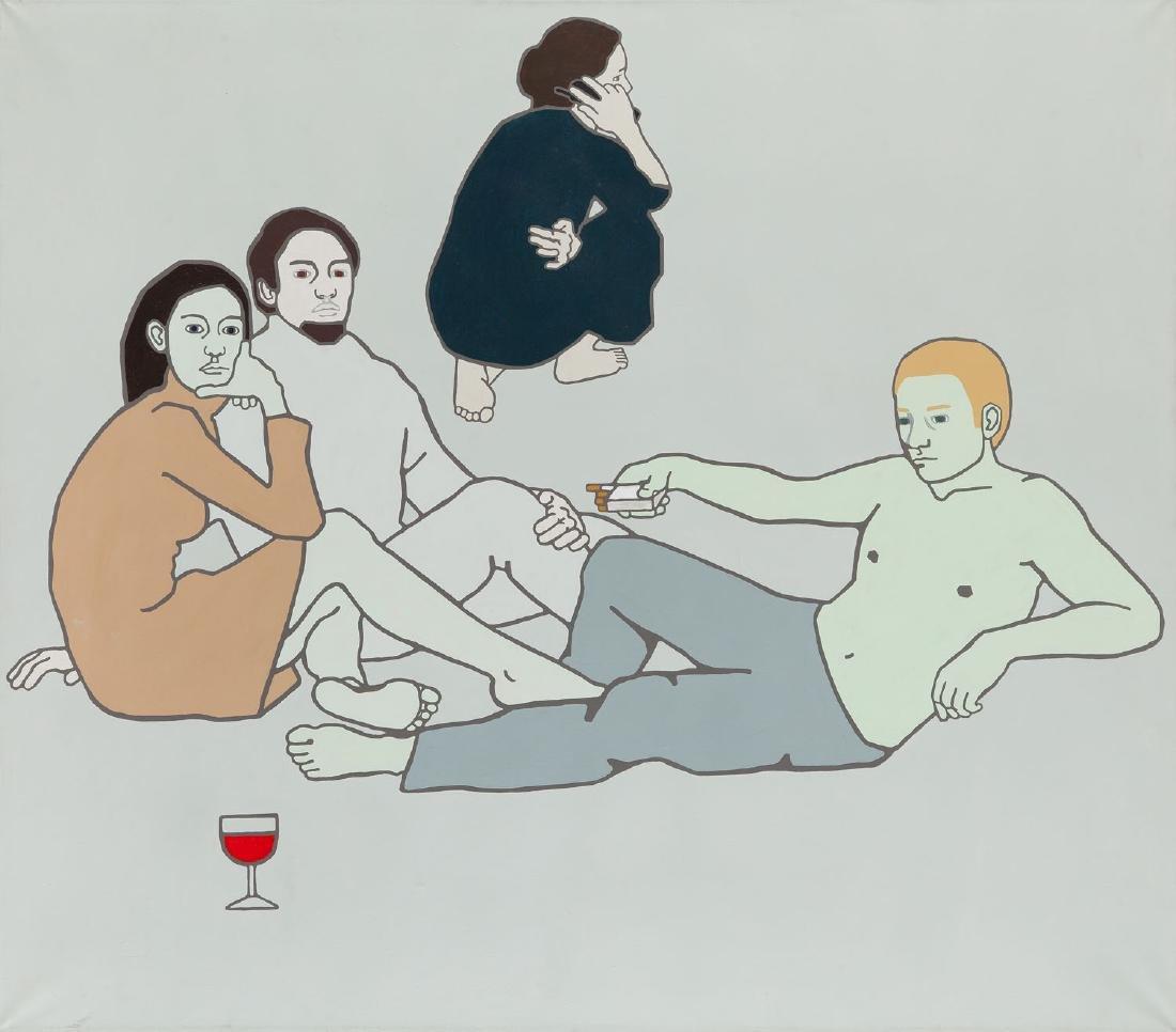Agata Bogacka (b. 1976) On the grass, 2001