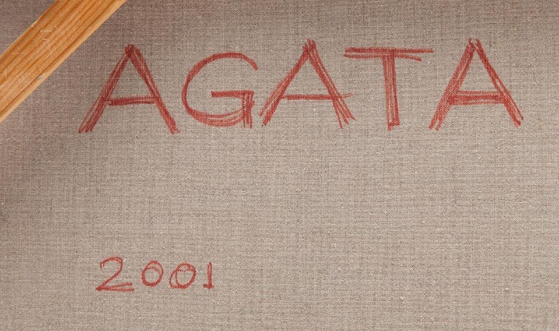 Agata Bogacka (b. 1976) On the grass, 2001 - 2