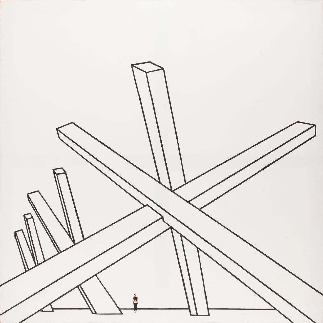 Wilhelm Sasnal (b. 1972) Untitled, 2001