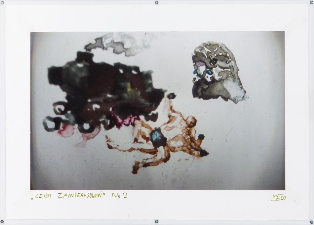 """Wojtek Bakowski (b. 1979) A set of two works: """"Interest - 8"""