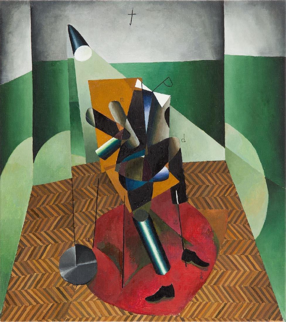 "Mateusz Szczypinski (b. 1984) Lesson III (""abc"") , 2016"