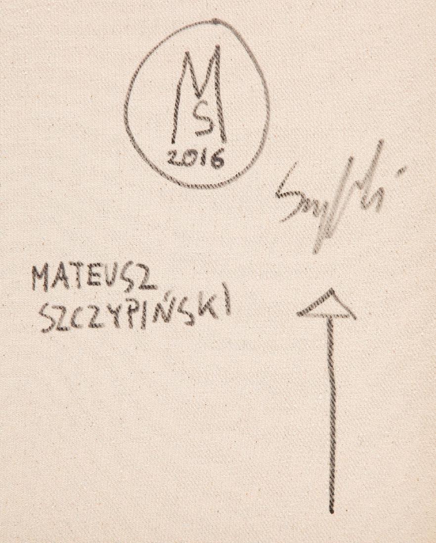 Mateusz Szczypinski (b. 1984) Crossword 30-16, 2016 - 2