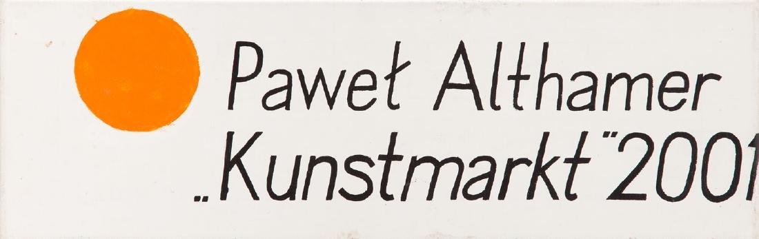 "Pawel Althamer (b. 1967) ""Kunstmarkt"", 2001"
