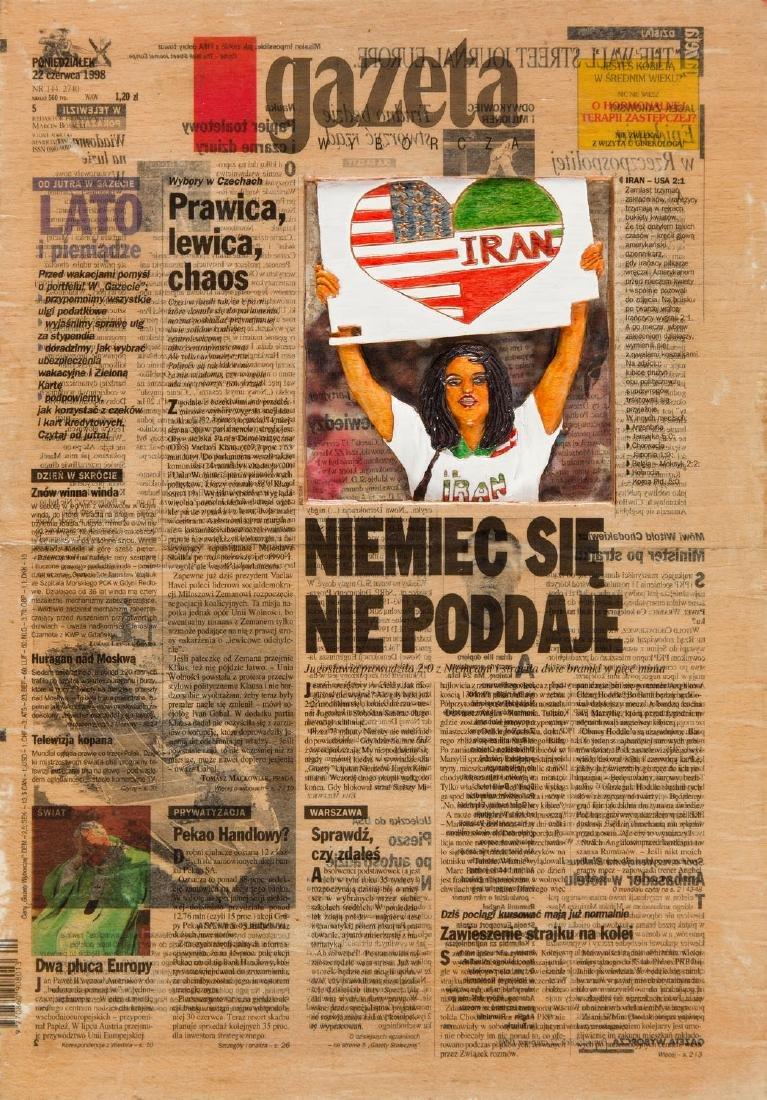 Wojciech Zasadni (b. 1971) Gazeta Wyborcza, 1999