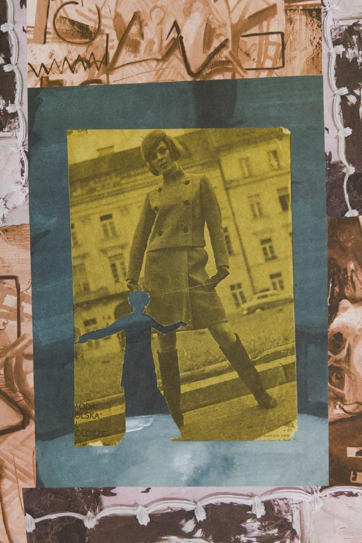 Paulina Olowska (b. 1976) Composition - 2