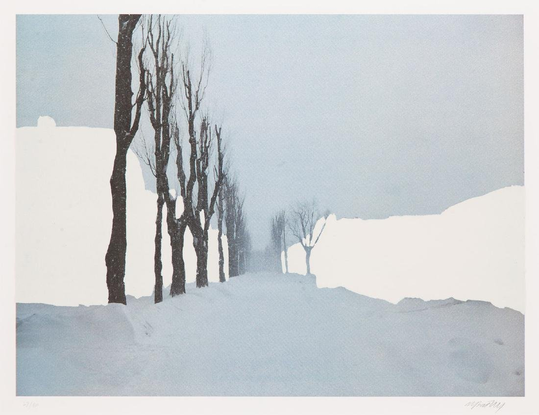 "Miroslaw Balka (b. 1958) Set of four works: ""Crossroads - 14"