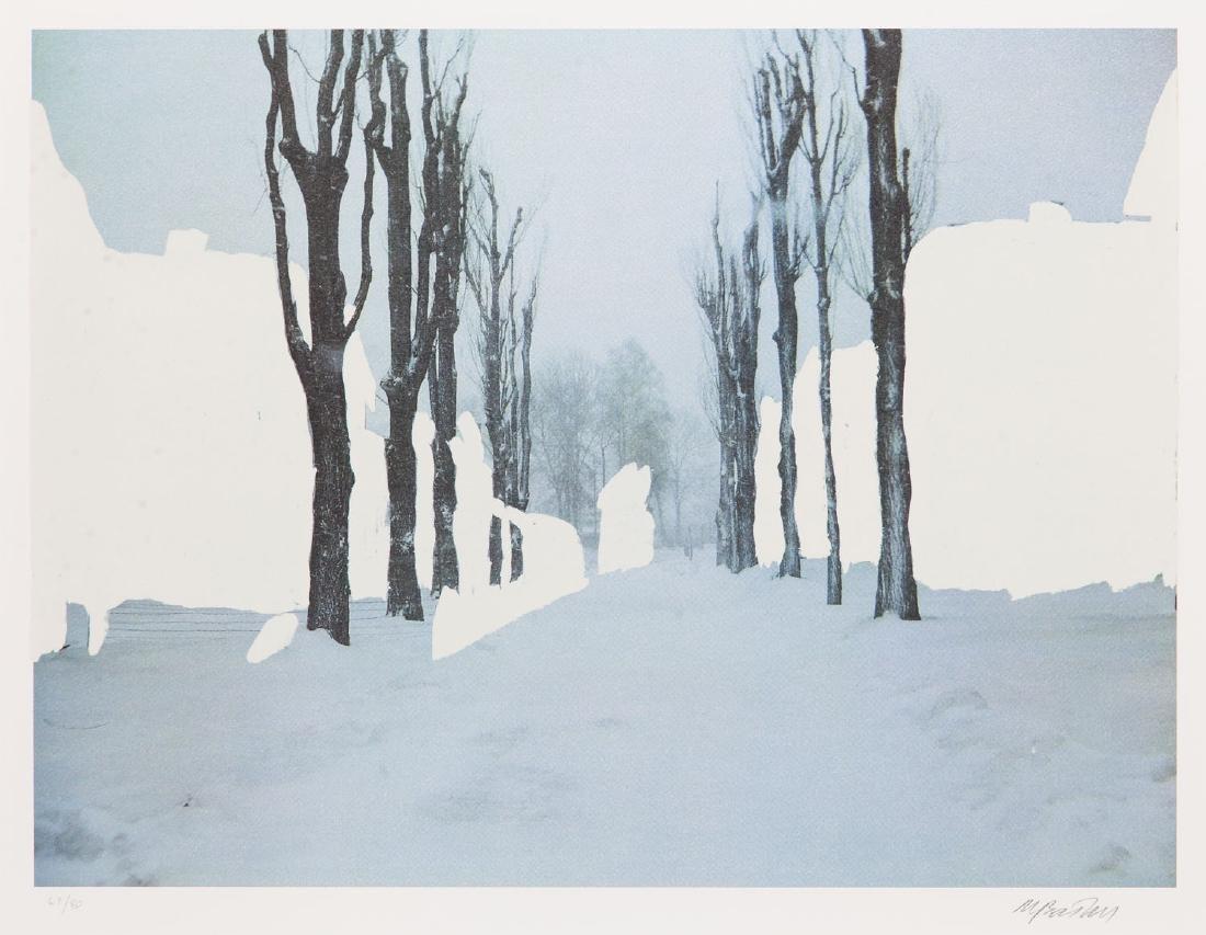 "Miroslaw Balka (b. 1958) Set of four works: ""Crossroads - 17"