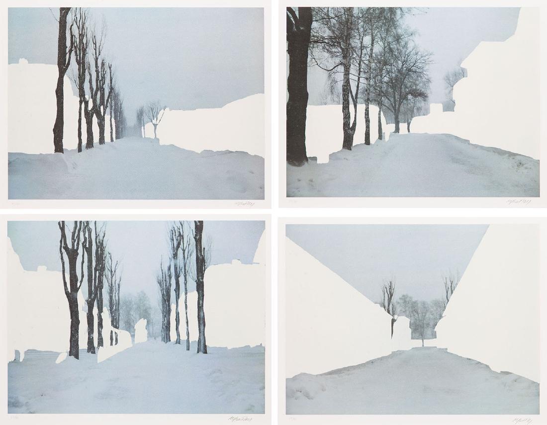 "Miroslaw Balka (b. 1958) Set of four works: ""Crossroads"