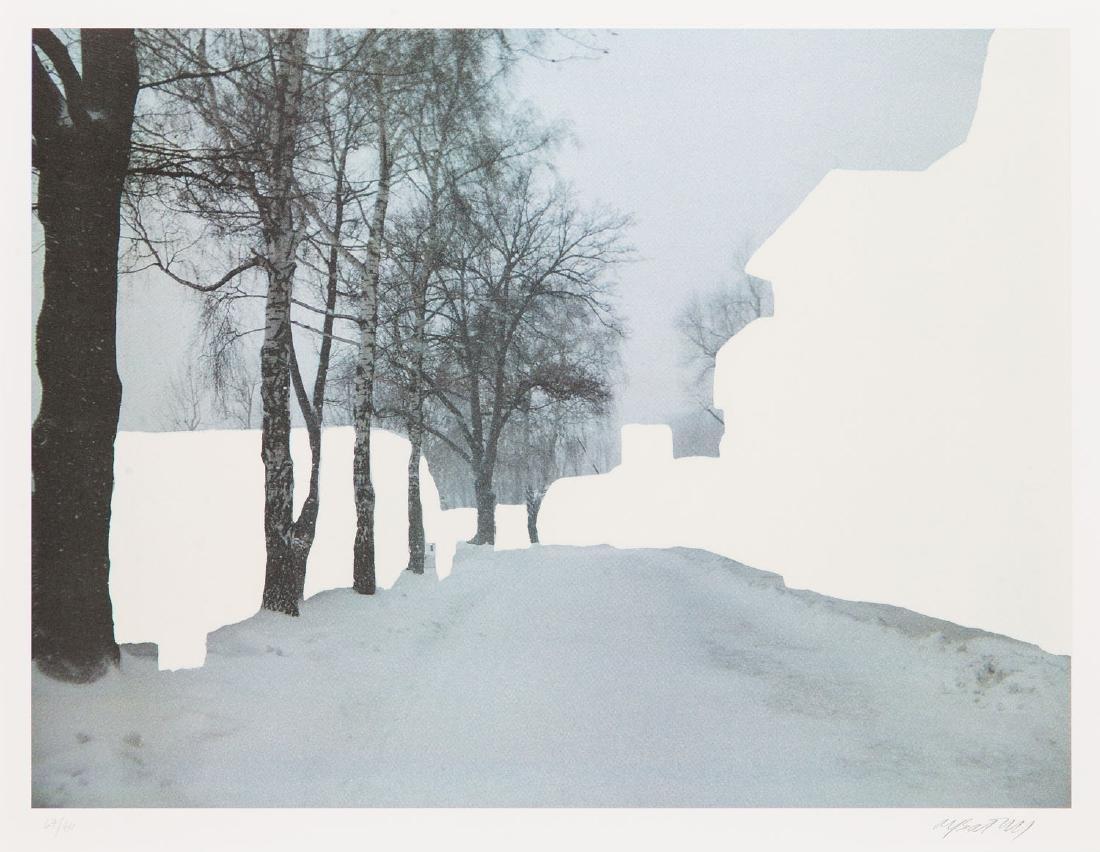 "Miroslaw Balka (b. 1958) Set of four works: ""Crossroads - 19"