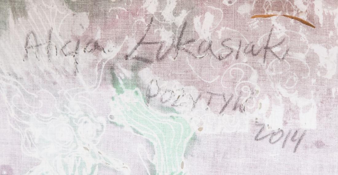 """Alicja Lukasiak (b. 1975) """"Positive"""", 2014 - 2"""