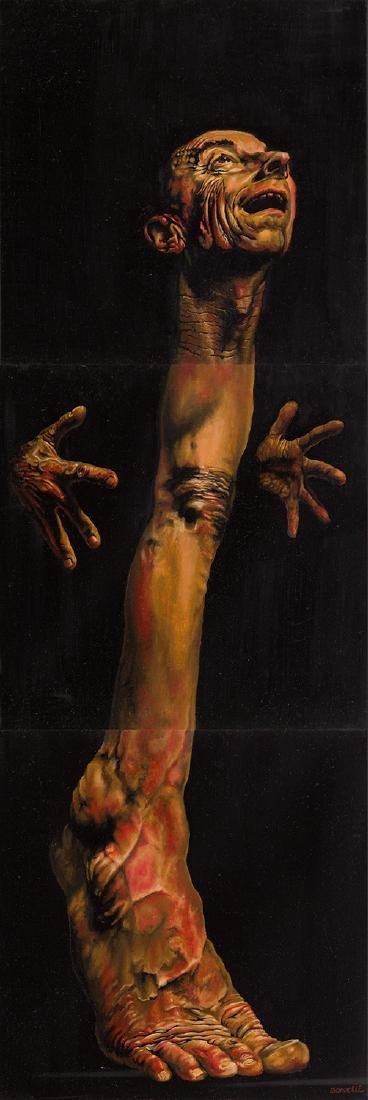 Michal Jan Borucki (b. 1984) The Desire, triptych, 2017