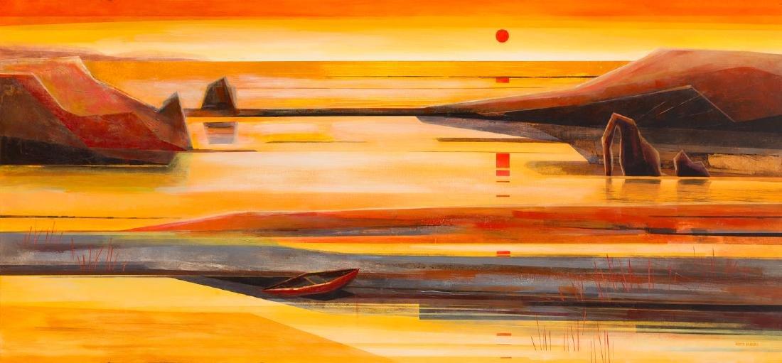 Marta Bilecka (b. 1975) Golden Genesis, 2017