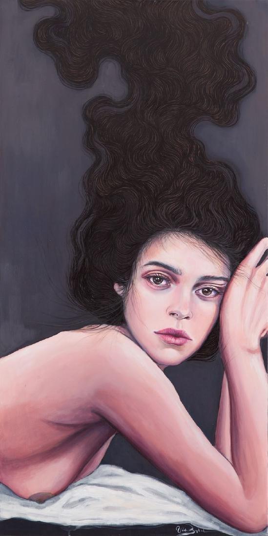 Wioleta Babol (b. 1989) Emil's Muse, 2017