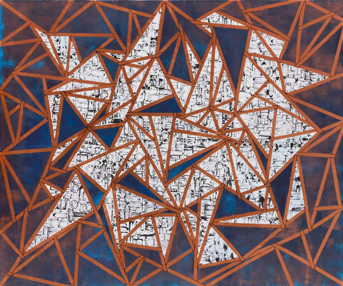 Natalia Karasinska (b. 1987) Cities 50000, 2017