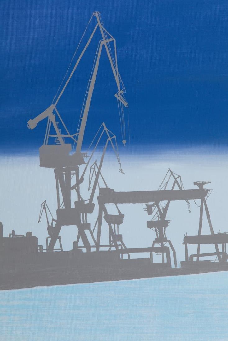 Michal Mroczka (b. 1984) Scandinavian harbour, 2018 - 5