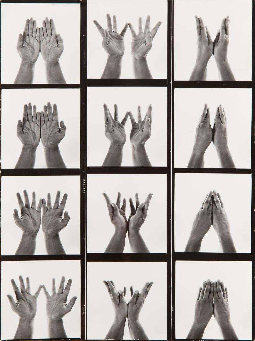 Zbigniew Dlubak (1921 - 2005) The Gestures series, the