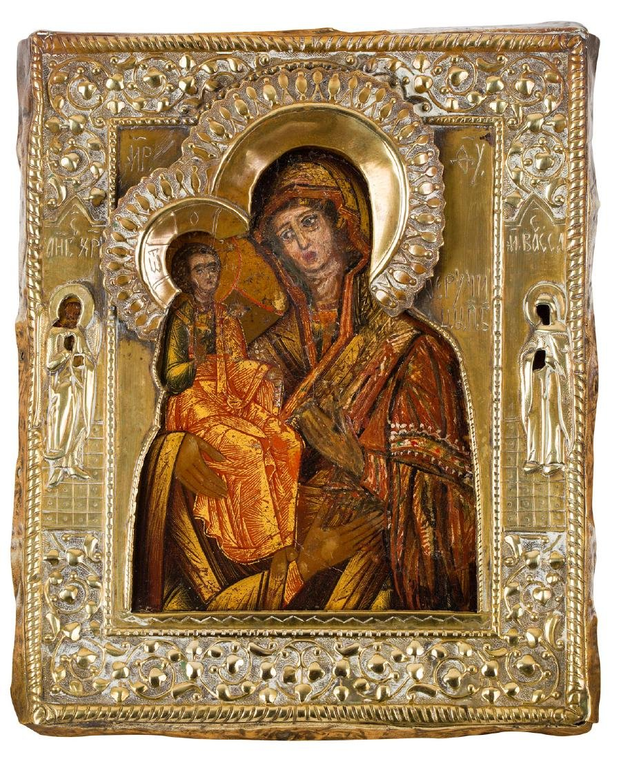 The Mother of God 'Three-handed', Icon, Second half