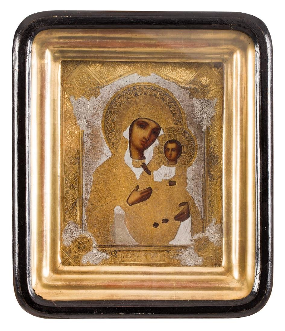 Ivierskaya Mother of God, Icon, Early 20th Century