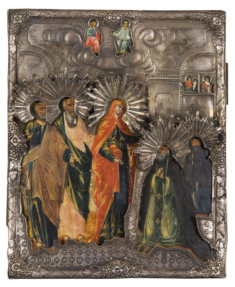 The appearance of the Mother of God to St. Sergius of