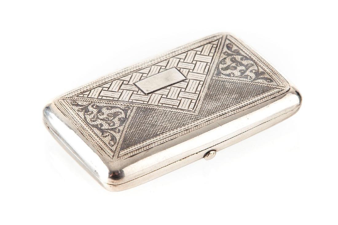 Cigarette case, 1895