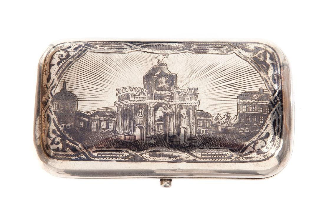 Cigarette case, 1878